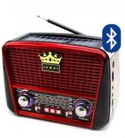 Napelemes Bluetooth hordozható solar rádió MP3, USB, FM, RX-BT455S