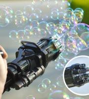 Buborékfújó gyerekeknek Fekete