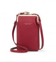 Mobil táska piros