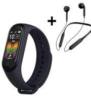 REON - Fitness Sport csomag - M5 Okoskarkötő, bluetooth sport headsettel, díszdobozban
