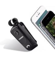 Bluetooth headset (csíptethető, visszahúzható)