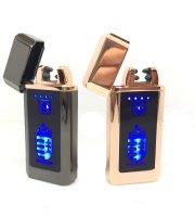 USB-ről Tölthető elektromos öngyújtó, Magyarország címerrel, díszdobozban