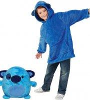 Plüss Pulcsi Gyerekeknek Kék