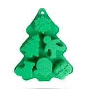 Szilikon sütőforma - karácsonyi - 22 x 18,5 x 2,5 cm