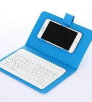 Telefontok bluetooth billentyűzettel kék