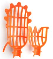 Gyümölcsszedő fej - narancssárga