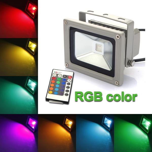 10 W, Színválasztós LED reflektor
