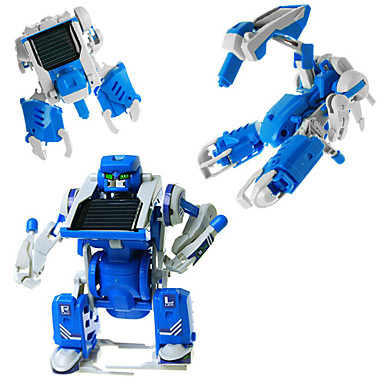 3 in 1 transforming solar robot diy toy assembly kit jeze1361258048968