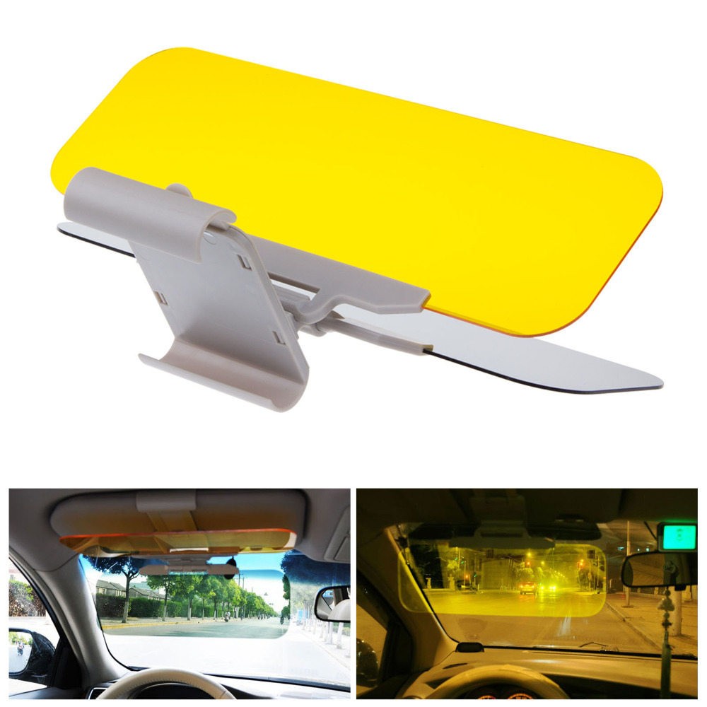 Auto Car Anti Glare Dazzling Goggle Day Night Vision Driving Mirror Sun Visors free shipping