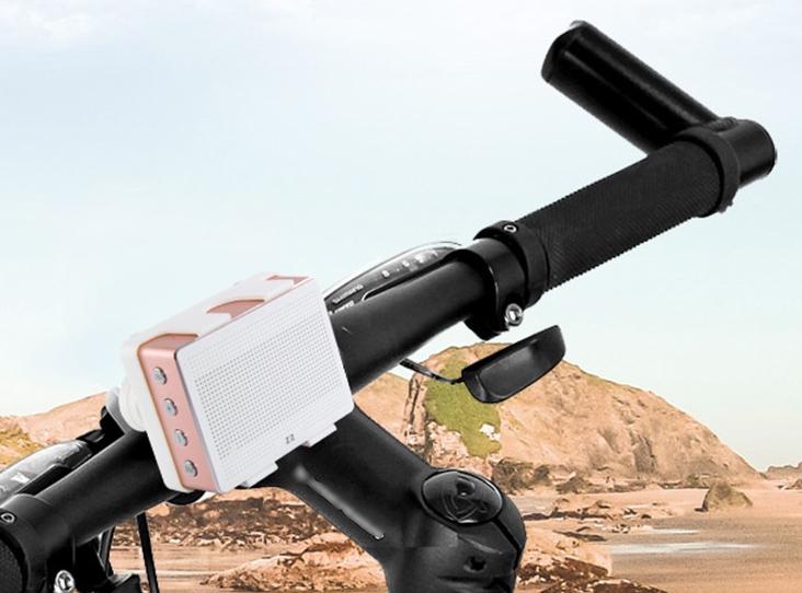 Biciklire szerelhető bluetooth hangszóró