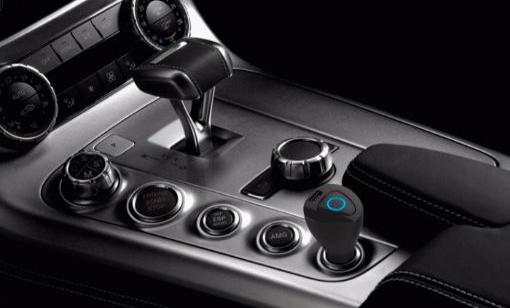 Bluetooth-os autós headset/töltő