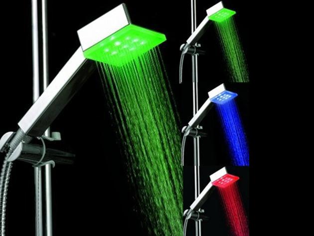 Kocka alakú Design Led Zuhanyfej