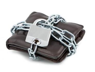 Biztonságos irat és bankkártya tartó