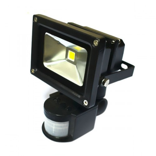 10 W Mozgásérzékelős LED reflektor, fényvető