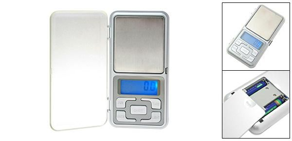 pocketsc. pocket lcd digital weight scale 500 gms