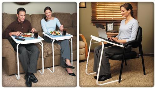 Table Mate hordozható étkező és laptopasztal