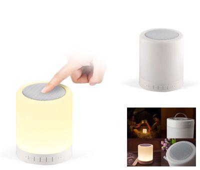 335f46fd3b Szórakoztató elektronika: Bluetooth-os hangszóró, LED lámpával ...