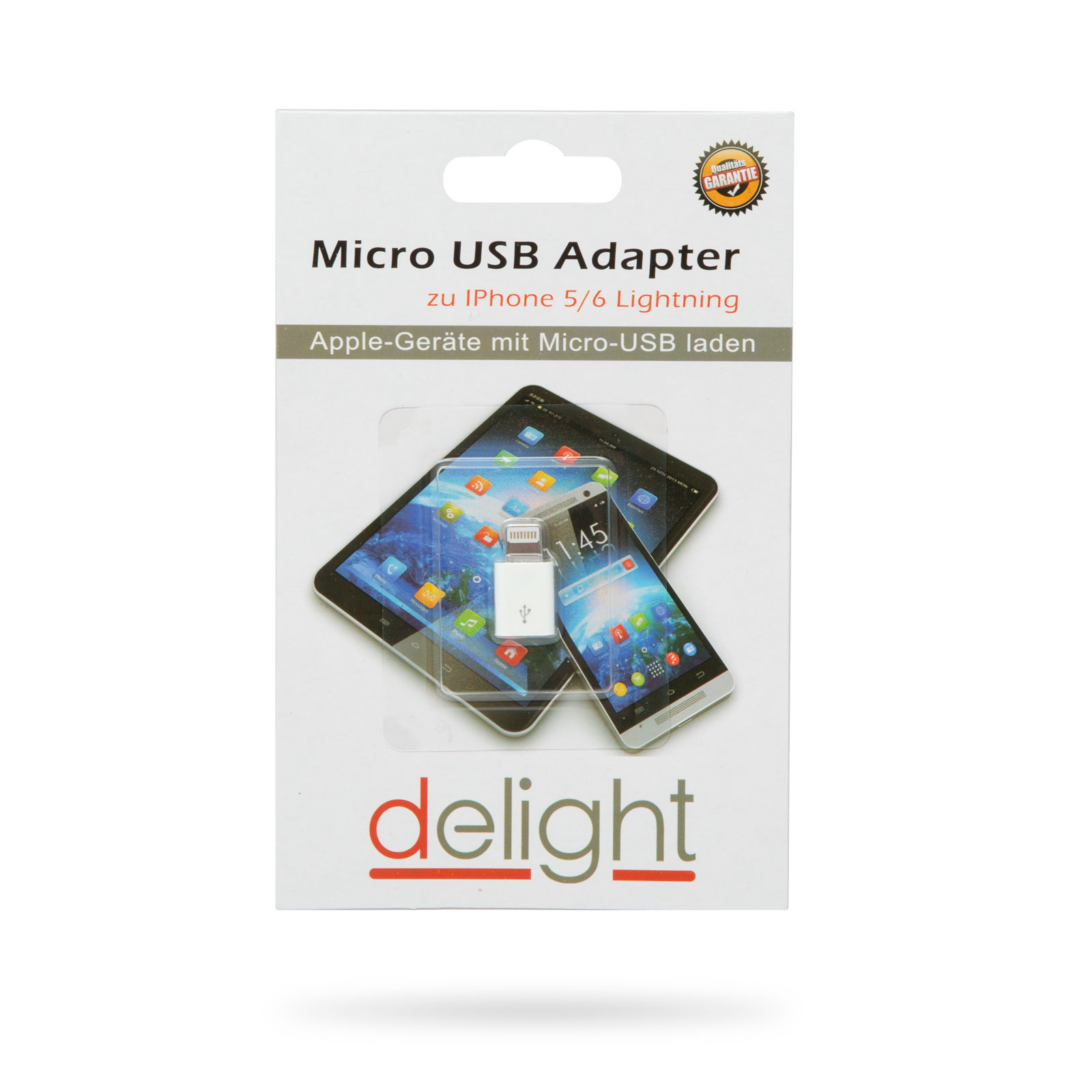 Adapter - iPhone Lightning - MicroUSB