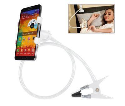 Flexibilis csiptethető mobiltelefontartó