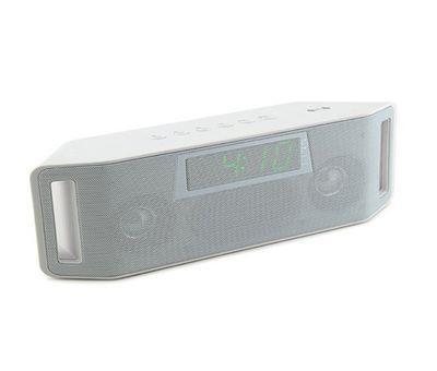 f555047e0a9c Bluetooth hangszóró, rádiós ébresztőóra funkcióval - többféle színben -  Fehér