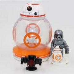 Lepin - BB8 mini figurával