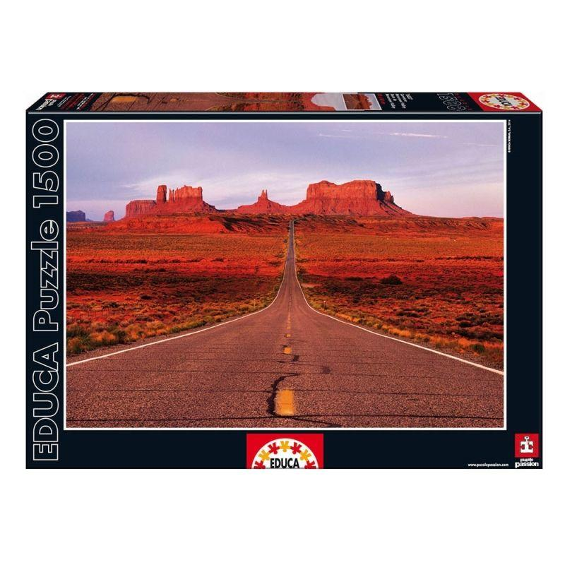 Educa Valley road puzzle, 1500 darabos