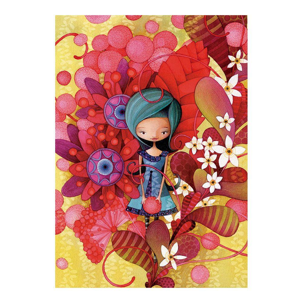 Educa Blue Lady, Ketto puzzle 1000 darabos