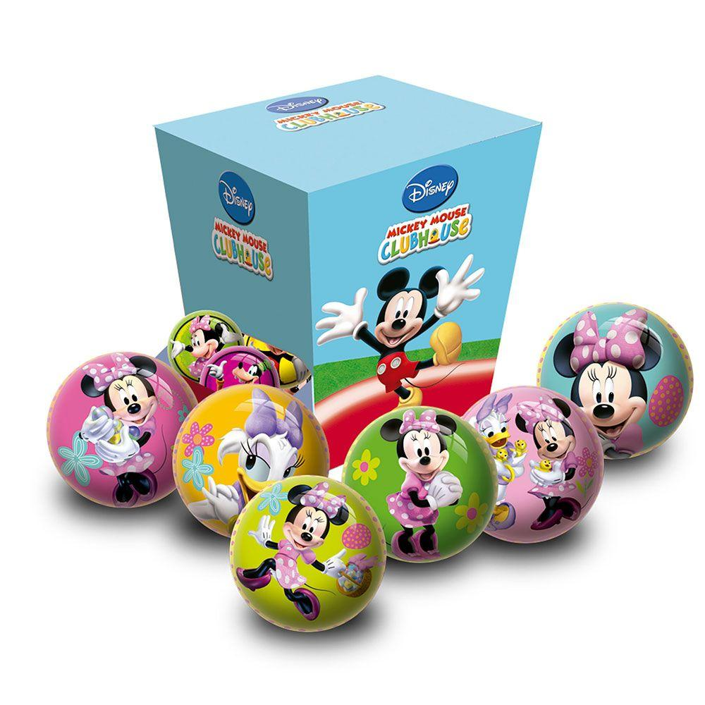 Disney Minnie egér labda, 6 cm