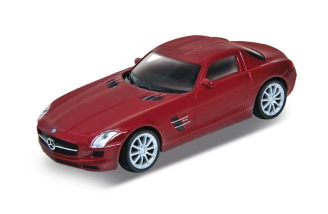 Welly Mercedes SLS AMG autó, 1:43