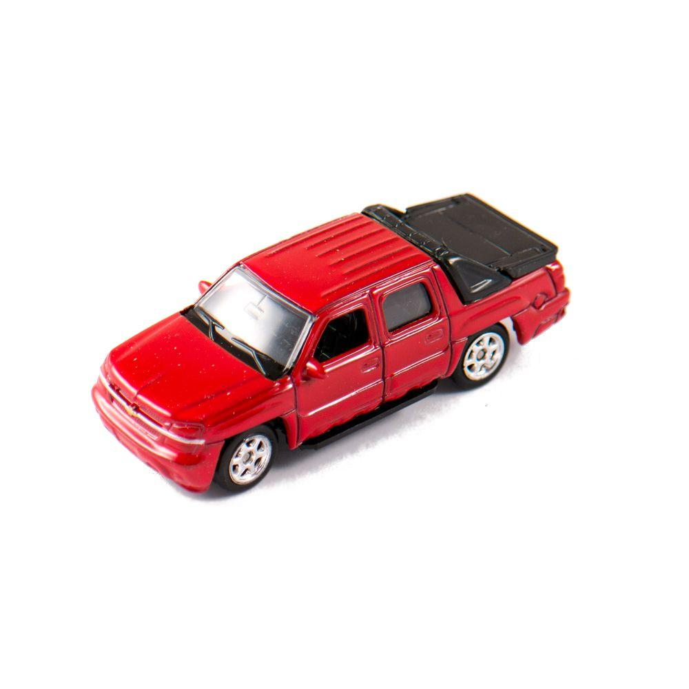 Welly Chevrolet Avalanche 2002 bordó kisautó, 1:60-64