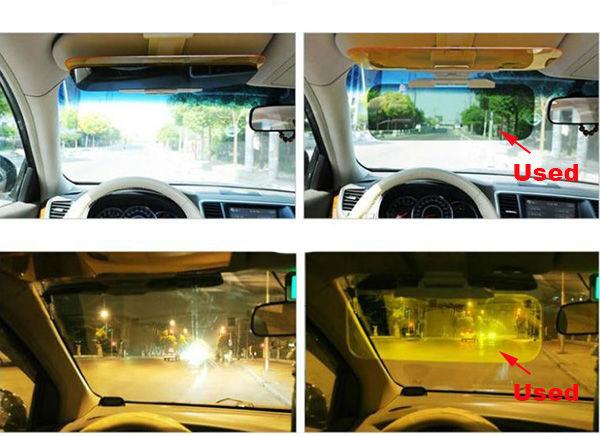 Day & Night Visor - Napellenzőre csatolható vezetést segítő panel